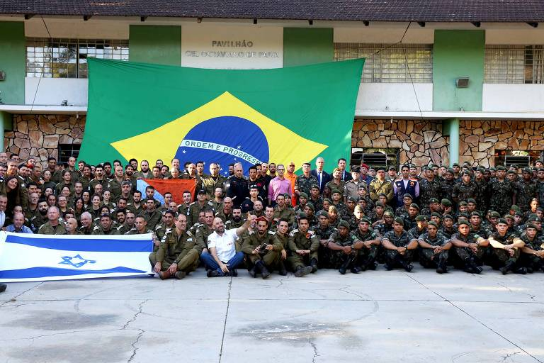 Missão israelense enviada para Brumadinho (MG)