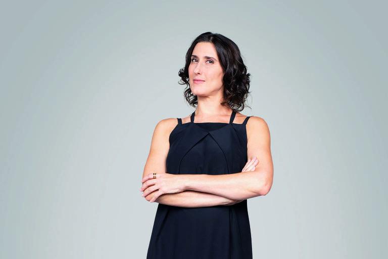 A chef de cozinha Paola Carosella, conhecida pelo MasterChef