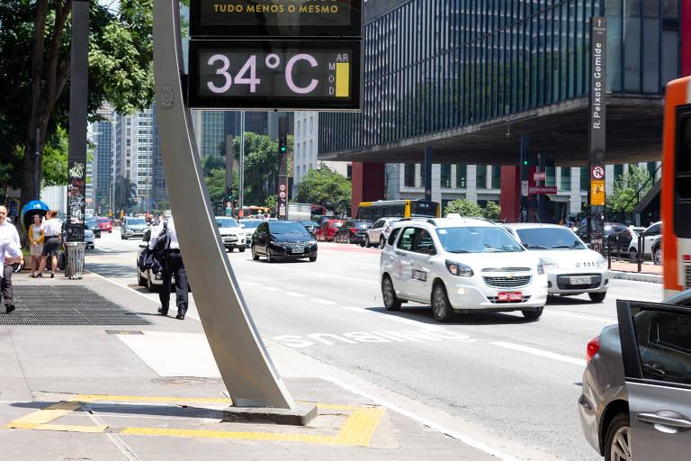 Janeiro é o segundo mês mais quente em São Paulo em 76 anos