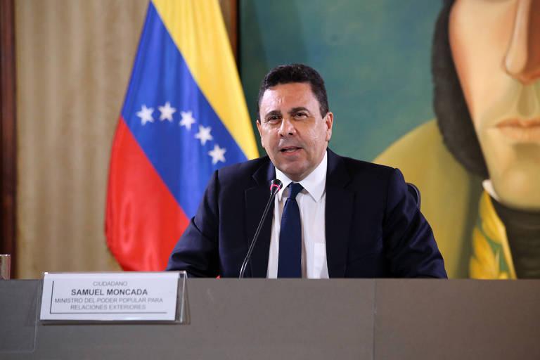 O embaixador venezuelano junto à ONU, Samuel Moncada