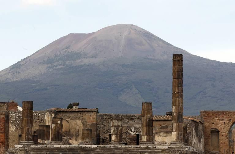 Erupção em Pompeia
