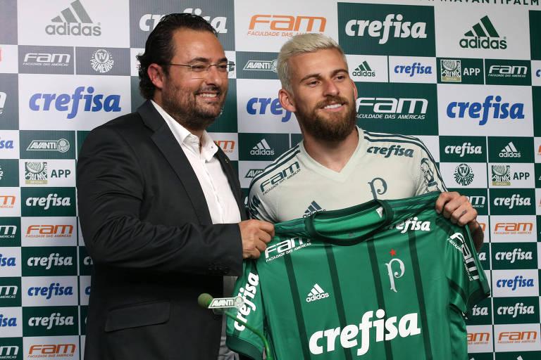 Patrocínios do Palmeiras