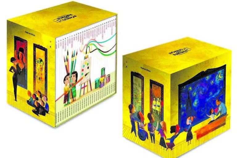 Coleção Folha Pintores para Crianças