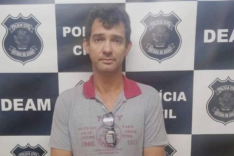 Sandro Teixeira Oliveira, filho do médium João de Deus, preso em Anápolis (GO)