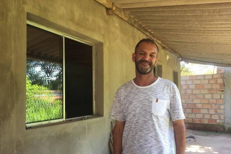 Elias de Jesus Nunes, 43, sobrevivente que estava em caminhonete