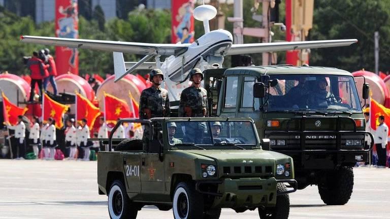 militares na china