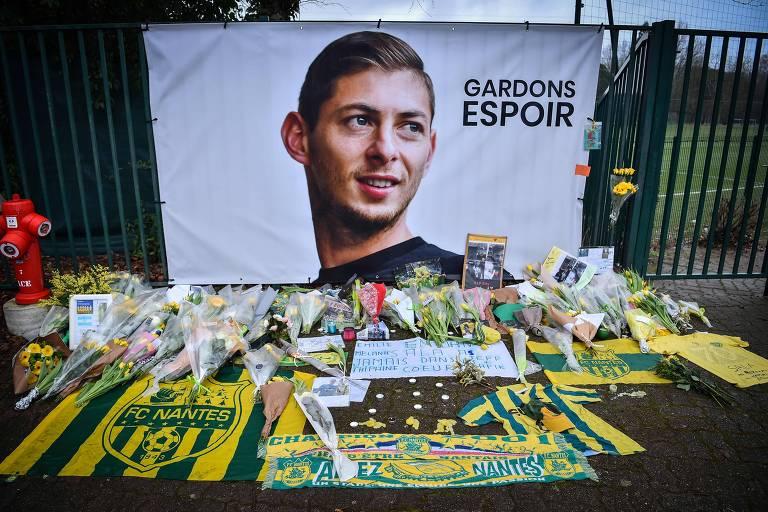 Homenagens a Emiliano Sala