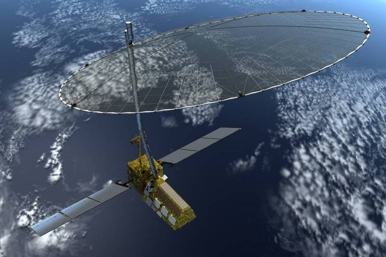 Sistema Nisar usa satélites, drones e sensores para monitorar barragens em tempo real
