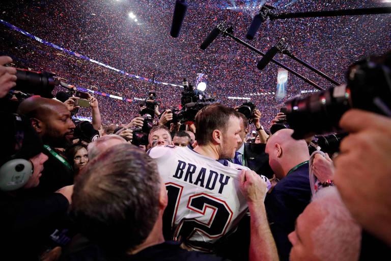 Tom Brady após vencer o Super Bowl LIII