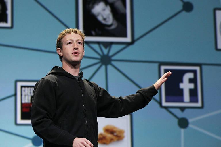 Mark Zuckerberg, presidente-executivo do Faceoook