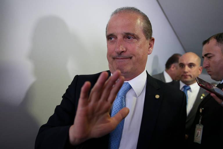 O ministro chefe da Casa Civil Onyx Lorenzoni
