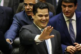 CONGRESSO / ABERTURA / ALCOLUMBRE / MAIA / ONYX / GOVERNO BOLSONARO