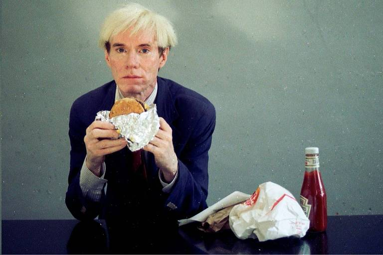 Andy Warhol em propaganda do Burger King