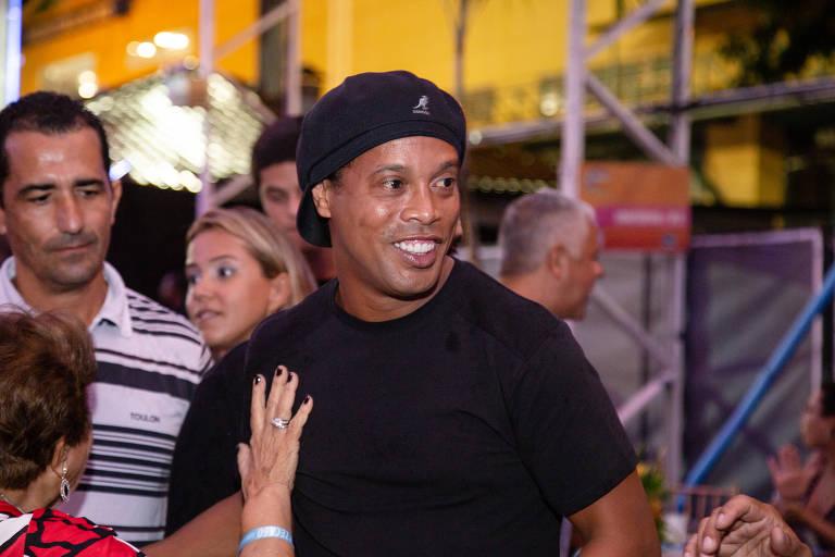 O ex-camisa 10 da seleção brasileira Ronaldinho Gaúcho