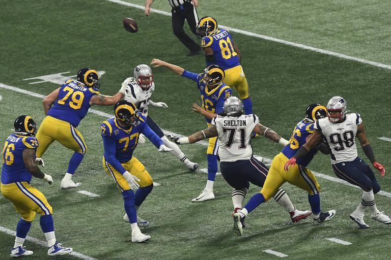 Boicote e jogo com poucos pontos derrubam audiência do Super Bowl