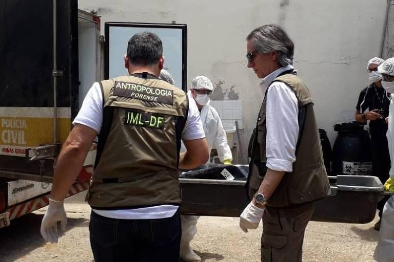 Samuel Ferreira, um dos principais peritos no país em identificação de corpos e esqueletos, trabalha agora em Brumadinho (MG)