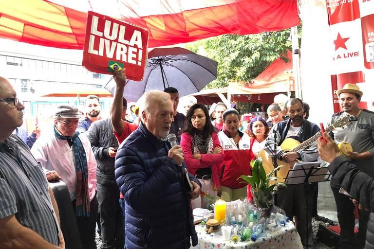 Celebração ecumênica para irmão de Lula em Curitiba