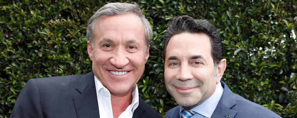 Cirurgiões Terry Dubrow e Paul Nassif, que apresentam o programa Botched, do canal E!