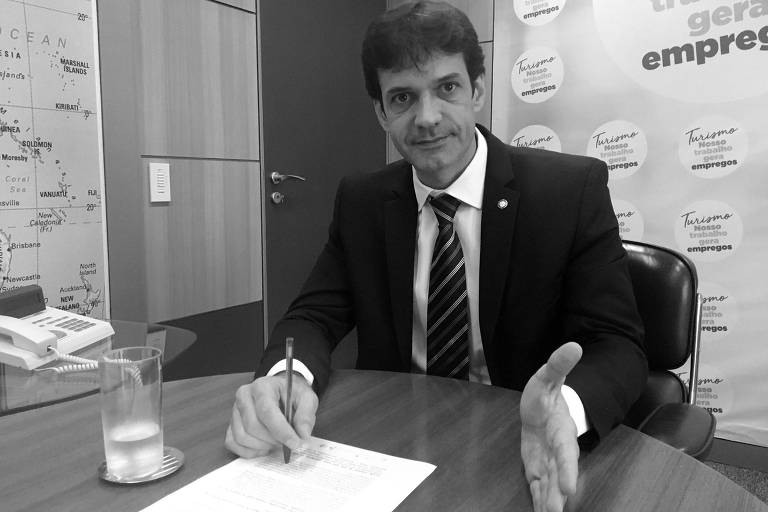 O ministro do Turismo, Marcelo Álvaro Antônio (PSL-MG), em Brasília