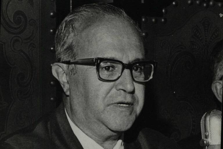 O ministro da Justiça, Luís Antônio da Gama e Silva