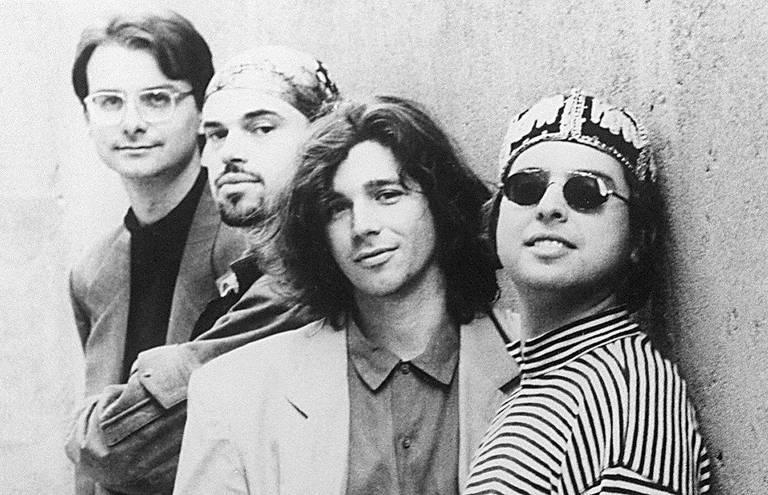 O grupo musical Nouvelle Cuisine em foto sem data no fim dos anos 1980; segundo da esquerda para a direita, o cantor Carlos Fernando Nogueira foi encontrado morto nesta quarta (6), em sua casa no centro de SP