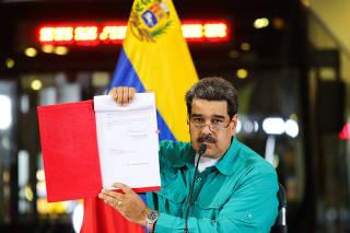 VENEZUELA-CARACAS-MADURO
