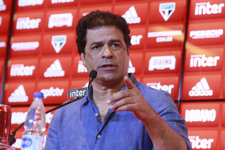 Raí, ex-jogador e atual diretor-executivo do São Paulo