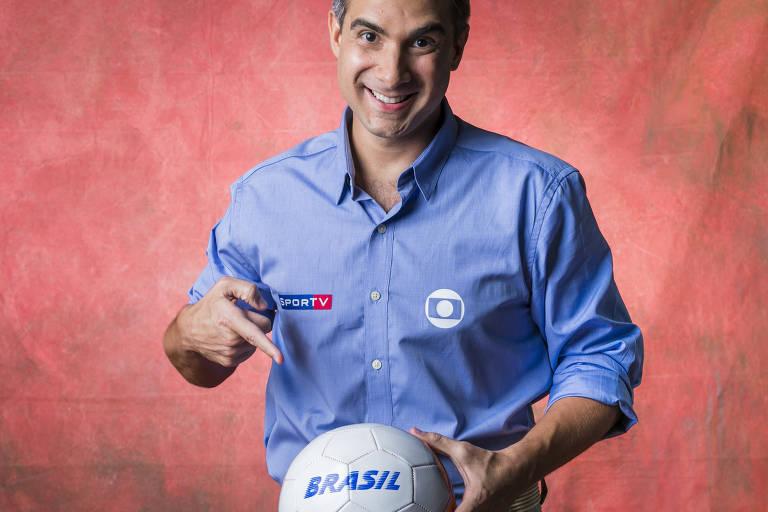 Gustavo Villani, narrador da TV Globo