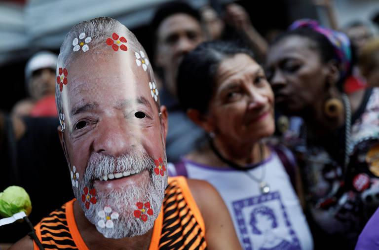 Vigília Lula Livre, em Curitiba