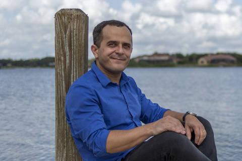 ORLANDO, FL - 08 SETEMBRO: Carlos Edmar Pereira, empreender social criador do Livox, posa para foto, em Orlando, na Florida, Estados Unidos, em 08 de setembro de 2016. (Foto: Na Lata)******PREMIO EMPREENDEDOR SOCIAL 2016******
