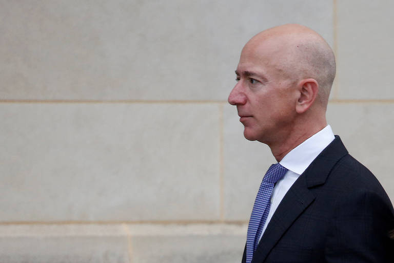 Jeff Bezos, presidente da Amazon