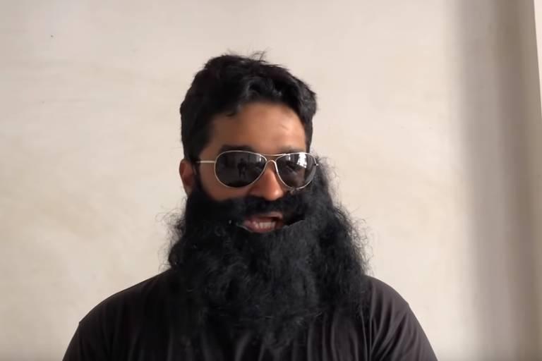 O indiano Raphael Samuel, 27