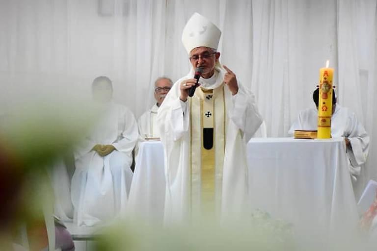 O arcebispo da Paraíba, dom Manoel Delson Pereira