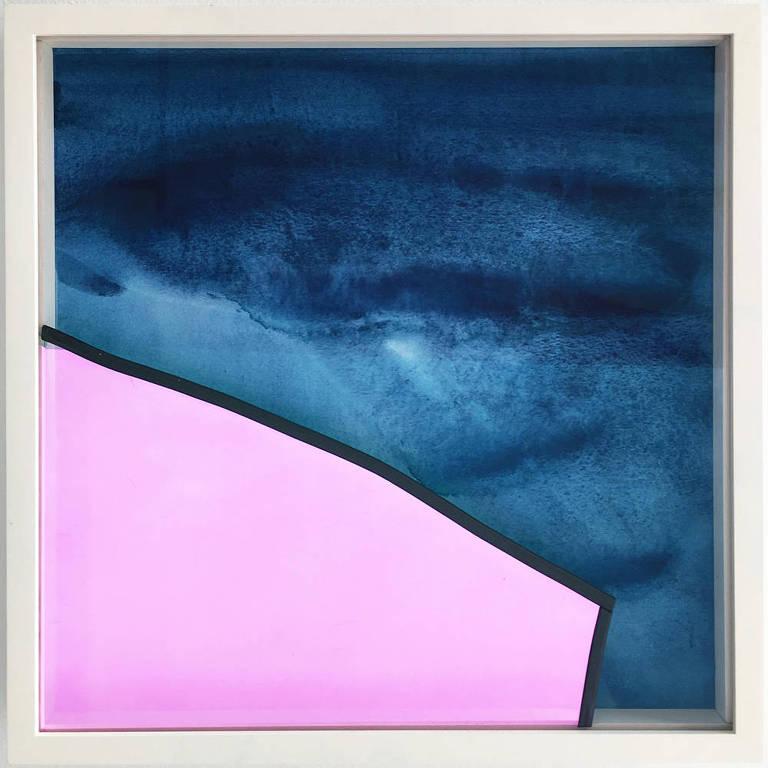 Obra Stephen Dean que integra a mostra 'Rehearsal with Props' na Casa Triângulo