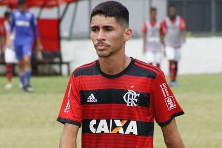 Rykelmo de Souza Viana, 16, estava no Flamengo desde 2017