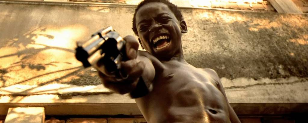 Douglas Silva como Dadinho em 'Cidade de Deus', filme de 2002 de Fernando Meirelles e Kátia Lund