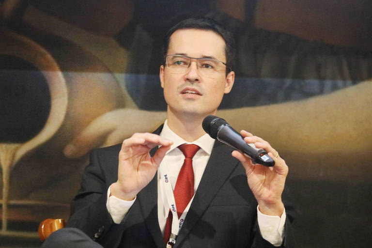 O procurador da República Deltan Dallagnol, coordenador da Lava Jato no Ministério Público Federal em Curitiba