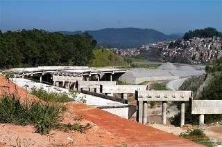 SAO PAULO, SP, 30.01.2019:  OBRAS DO TRECHO RODOANEL NORTE