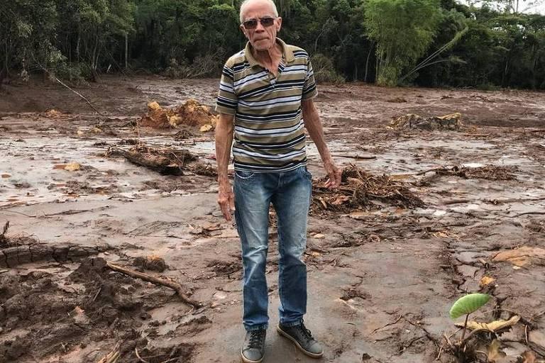 Helio e dezenas de outros agricultores de Brumadinho perderam suas plantações