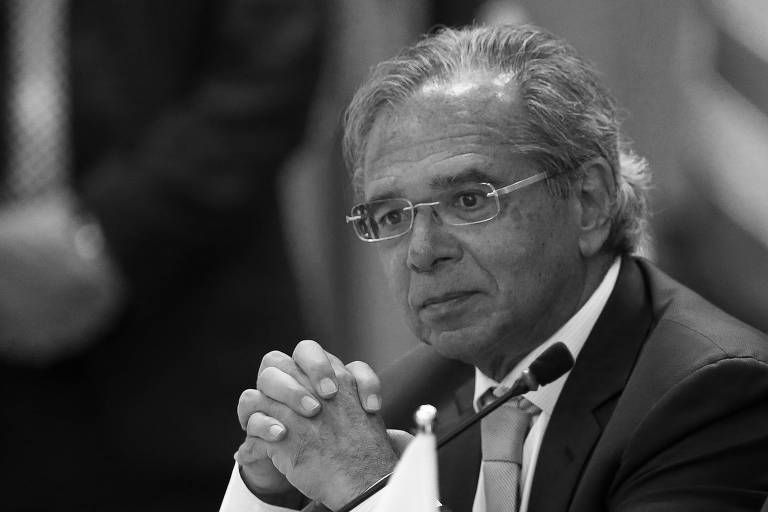 O economista Paulo Guedes, ministro da Fazenda do governo Jair Bolsonaro