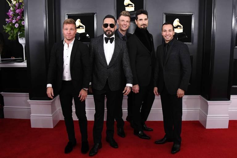 Backstreet Boys ainda têm esperança de se apresentar em São Paulo este ano