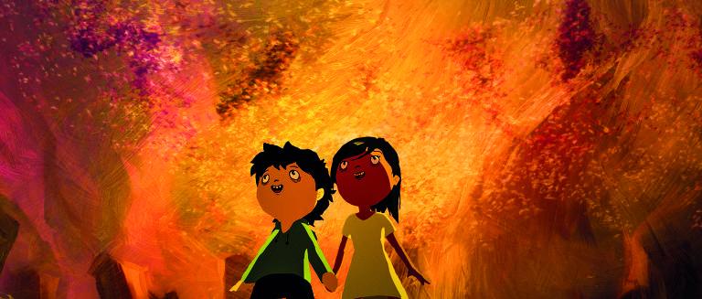 Cena da animação brasileira 'Tito e os pássaros'