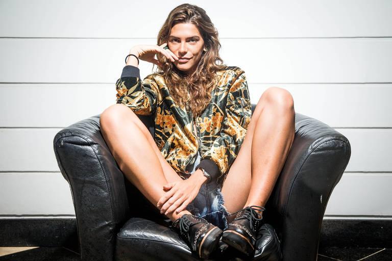 A apresentadora e modelo Mariana Goldfarb