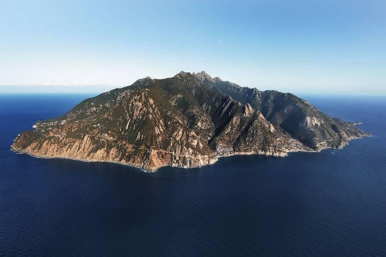 A Ilha de Monte Cristo, na Itália