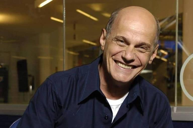 O jornalista Ricardo Boechat, morto nesta segunda (11) na queda de um helicóptero em São Paulo