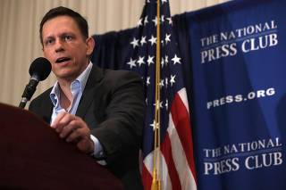 Trump Supporter And Entrepreneur Peter Thiel Discusses Presidential Elections