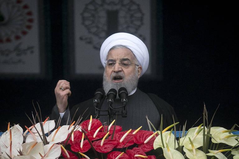 Irã promete fracasso de 'planos diabólicos' inimigos no 40º aniversário da revolução
