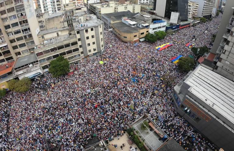 Protestos na Venezuela em 12 de fevereiro