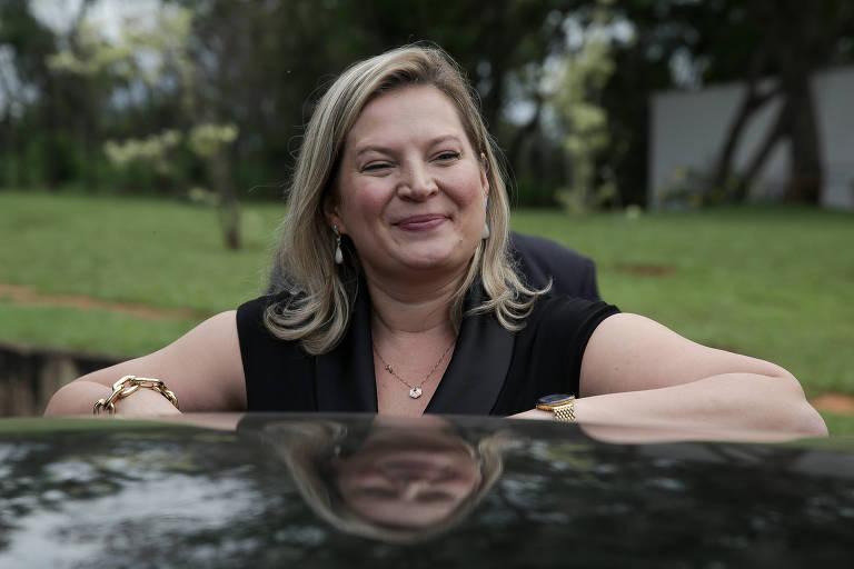 A deputada Joice Hasselmann (PSL-SP)