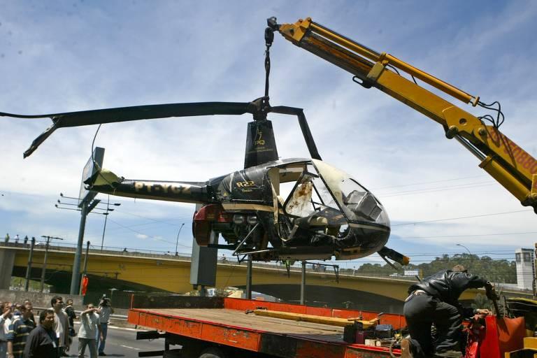Acidentes de helicóptero da RQ Serviços Aéreos